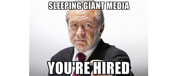 Alan Sugar - Sleeping Giant Media - You're Hired!