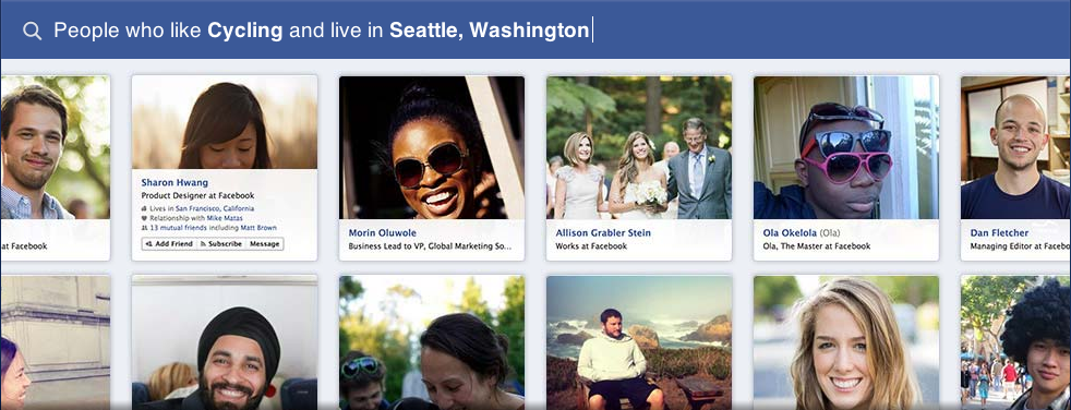 What Does Facebook Graph Search Mean for Marketers?