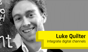 Luke Hosting Workshop at Digital in Kent Conference