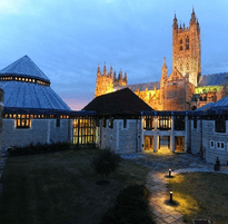 Canterbury Cathedral Lodge - location for Kent Invicta Chamber Business Awards gala dinner