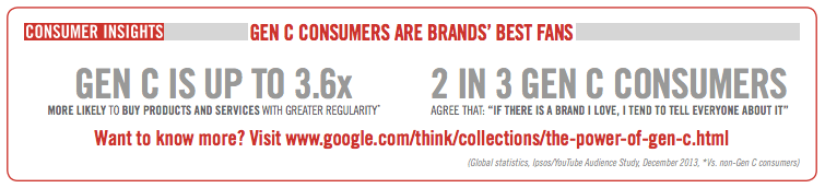 Gen C consumers are brands' best friends.