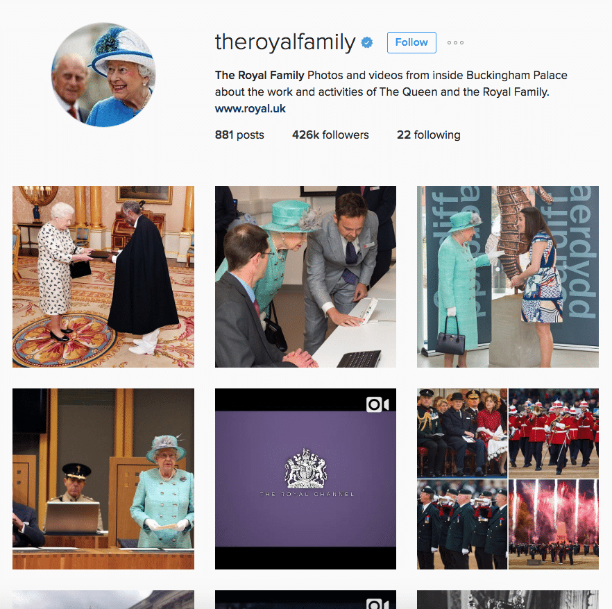 Royal Family Instagram