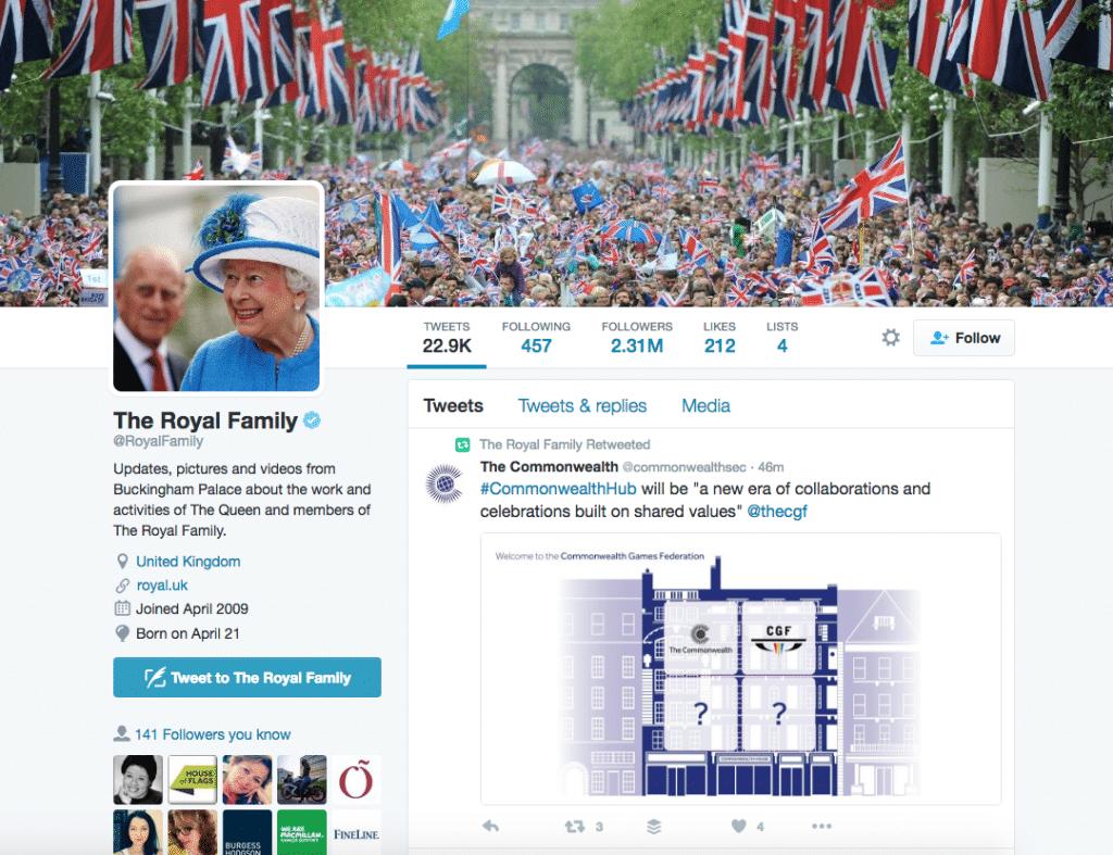 Royal Twitter