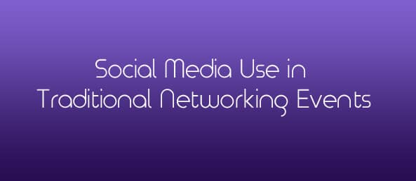 Social Media Use in Traditional Networking