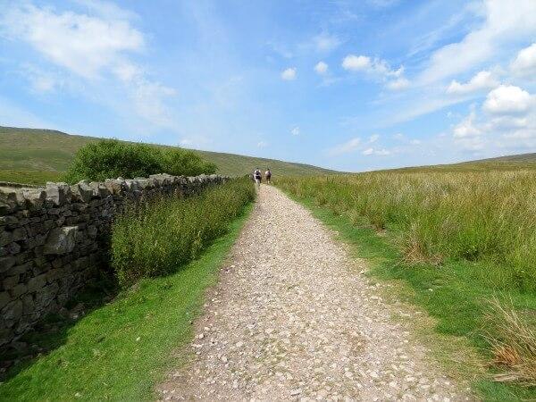 The long walk up Whernside