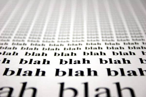 Blah blah blah - keyword research helps you to make sure there's an audience for your blog topic.