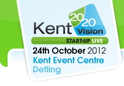 A successful day at Kent 2020 Vision Start-Up Live