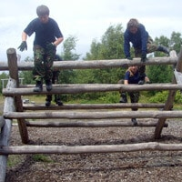 Fowlmead Country Park Confidence Course